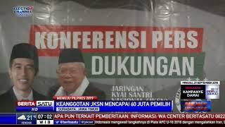 Jaringan Kiai Santri Nasional Jawa Timur Dukung Jokowi-Ma'ruf