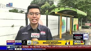 Ratusan Halte Bus di Jakarta Timur Kondisinya Mengkhawatirkan
