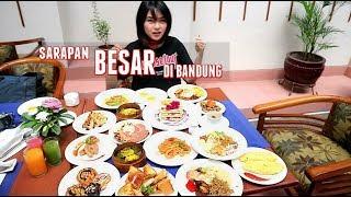 KENYANG MAMPUS! Sarapan BESAR di Bandung (Savoy Homann)