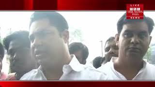 [ Dhanbad ] झारखंड के धनबाद चंद्रपुरा लाइन के विरोध मंत्री का फूंका पुतला / THE NEWS INDIA