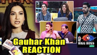 Gauhar Khan Reaction On Bigg Boss 12 | Dipika Kakar, Srishty Rode, Neha Pendse, Anup Jalota