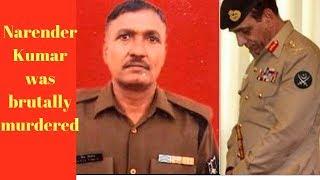 BSF Jawan Narender Kumar was brutally murdered