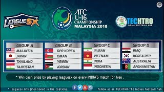 India vs Vietnam - AFC U16 Championship 2018 - where to watch , Fantasy 11 tips