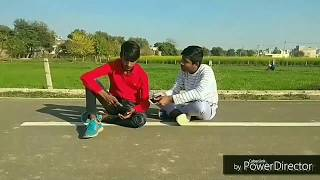 Girlfriend vs Accident | Be Safe Drive | funny video 2018 | Royal Star Harganvi