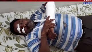 Dhoraji : Accident Between Ojas International School  Bus & Autoriksha