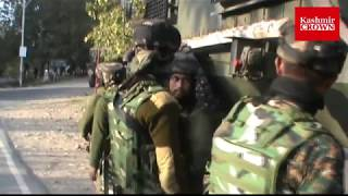 #Clashes erupt after forces launch search operation in South Kashmir.