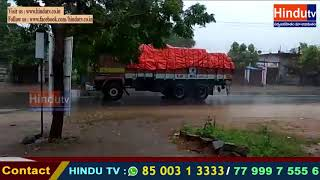 hEAVY RAINS IN KARIMNAGAR//HINDUTV LIVE//