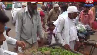 Vishavadar+Khambhaliya : Protests were organized in front of the farmers