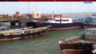 Okha : Tourists are ffrustated due to stoppage of boats as wind