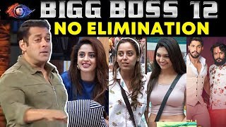No Elimination This Week: Heres Why | Bigg Boss 12 Weekend Ka vaar | Shocking Twist By Salman Khan