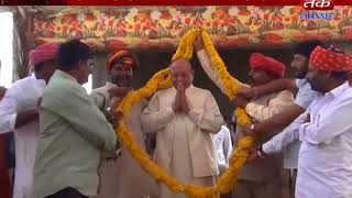 Dwarka : Former CM Shankar Lamba Vaghela is in the Moulvji Dham Pran Pratishtha Mahotsav
