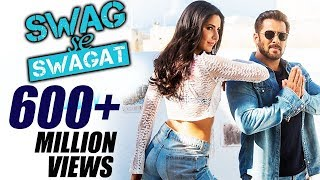 Swag Se Swagat Makes History | 1st Bollywood Song | 600M+ Views | Salman Khan | Tiger Zinda Hai