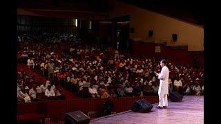 Congress President Rahul Gandhi addresses a gathering of Professors in Delhi