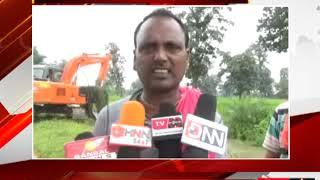 पखांजूर - मजबूर किसानों ने की नहर की सफाई - tv24