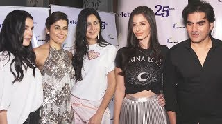 Katrina Kaif, Isabelle Arbaaz With Girlfriend At Yasmin Karachiwala 25 Years Of Fitness Training