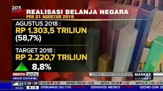 Realisasi Pelaksanaan APBN hingga 31 Agustus 2018