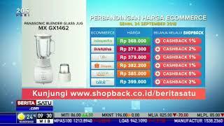 Perbandingan Harga E-Commerce: Panasonic Blender Glass Jus MX GX1462