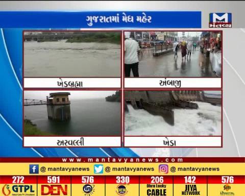 Heavy rain lashes north Gujarat