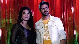 Divyanka Tripathi Dahiya With Husband Vivek Dahiya At Runwal's Club Estella Launch In Mumbai
