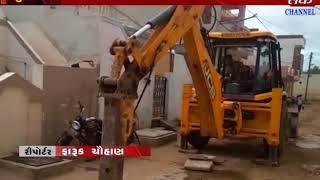 Surendranagar : development activity started at vord no.2