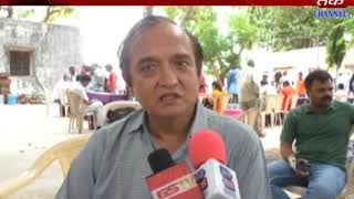 Khambhaliya : kacheri apke dwar function organised in slun area by collector