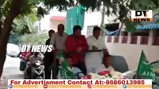 Kausar Mohiuddin | Recived Warm Welcome at Salarjung Colony | Commitee Supporting AIMIM - DT News