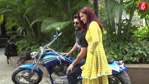 Arjun Kapoor and Parineeti Chopra spotted promoting their film 'Namaste England'