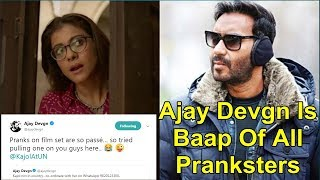 Ajay Devgn I The Baap Of All Pranksters I He Fooled All The Fans With This New Prank