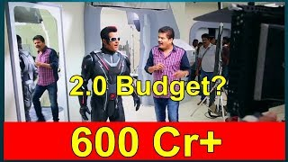 2.0 Movie Budget Will Be Over 600 Crores Due To This Reason