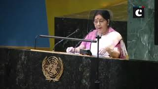 India considers Madiba as its own: Sushma Swaraj