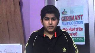 AUDITION YASH KHURANA  GURUMANT FILM PRODUCTION