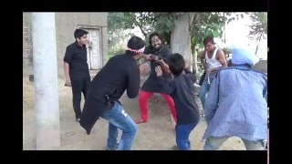 Making punjabi video''Gabbar da khoff'' gurumant film production