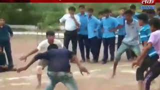 Hadiyana : jambudha team's winner in uma vidhya school's kabaadi completition