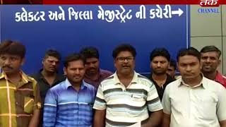 Jodiya : worker submitted memorandum of their demand to district collector for non payment of wages