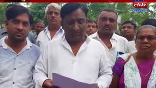 Santrampur : Application Give To Mamlatdar By Congress With Situation Of Act Is Seen Days