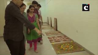 Unique rangoli exhibition organised in Vadodara