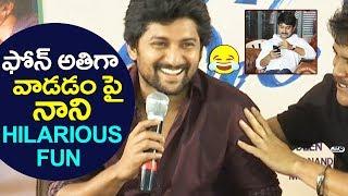 Nani about his Phone Habit | Devadas Movie | Nagarjuna, Rashmika, Aakanksha Singh | Top Telugu TV