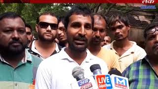 Dhoraj : Cleaning workers submitted to the question asked by the collector