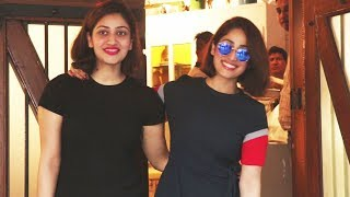 Yami Gautam Spotted With Her Sister Surilie Gautam Outside FABLE