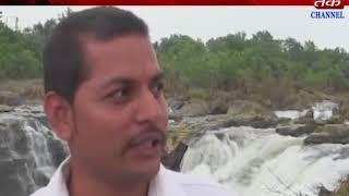 Gir somnath : lake of security arregment at jamjir fall.