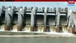 Surendranagar : Rainfall without water of Dhulisha dam is bursting with water