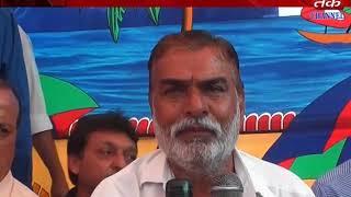 Visavadar : Railway drm Visiting the agitation ca    (video id -  371d9c997834cd)