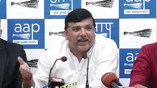 AAP Rajya Sabha MP Sanjay Singh Addressed on Rafale Scam