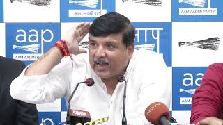 AAP RS Member briefs on another fraud Nitin Sandesara flees without paying 5000 crore to bank