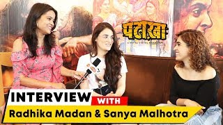 Pataakha Movie | Radhika Madan And Sanya Malhotra Exclusive Interview