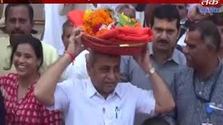 Gir somnath : Chief Minister Somnath Dada's made darshan