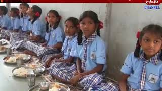 Silvassa :  Tithi Meals are held at the school