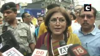 WB bandh: If you want to touch people's heart, you don't need sticks, says Roopa Ganguly