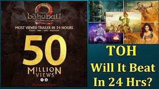 Thugs Of Hindostan Trailer Vs Baahubali 2 Trailer I Will It Break 50 Million Views Record In 24 Hrs