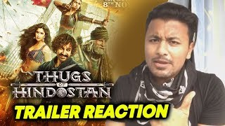Thugs Of Hindostan TRAILER REACTION | REVIEW | Aamir Khan, Amitabh Bachchan Fatima Katrina Kaif
